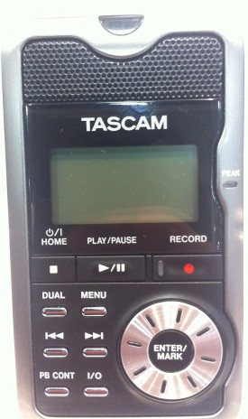 Little Tascam Recorder